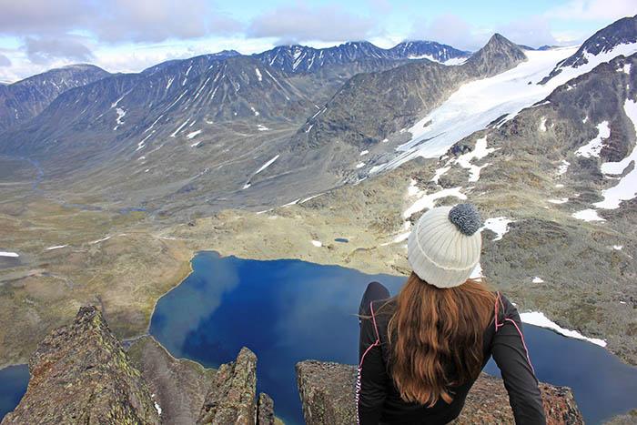 Nicole på fjellet 700