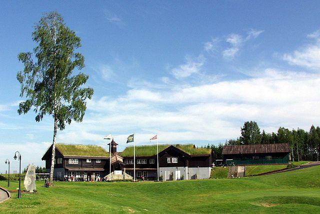 Miklagard golfbane på Kløfta