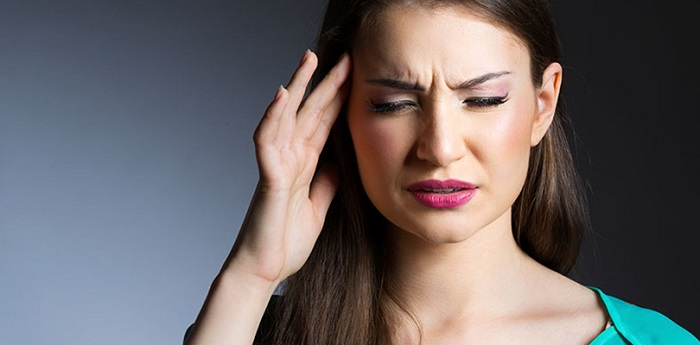 migrenehodepine og svimmelhet