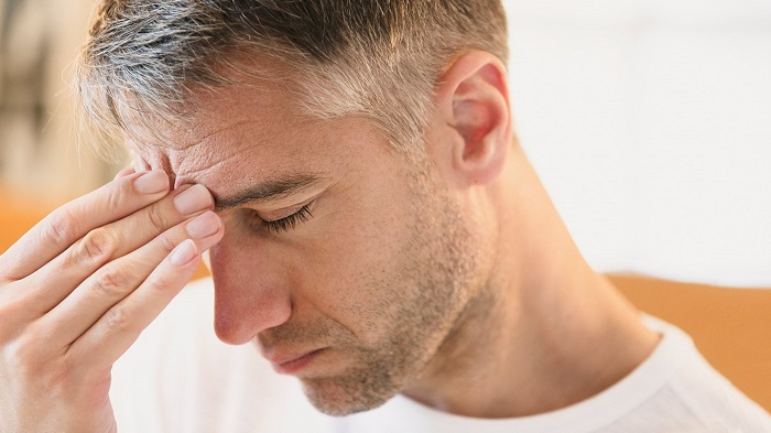 stress hodepine svimmelhet