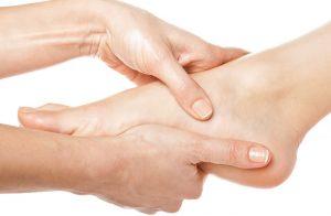 behandling av fotsmerter