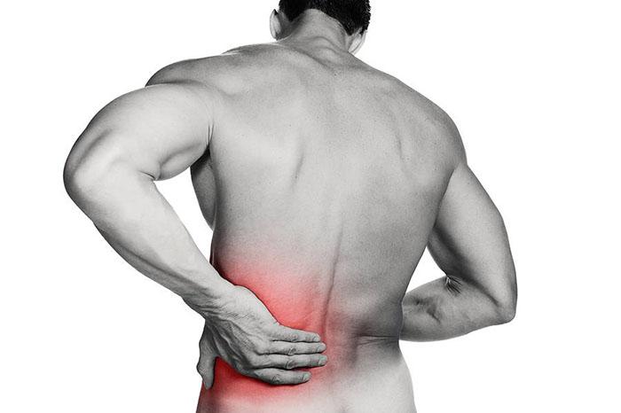 muskelsmerter i korsryggen