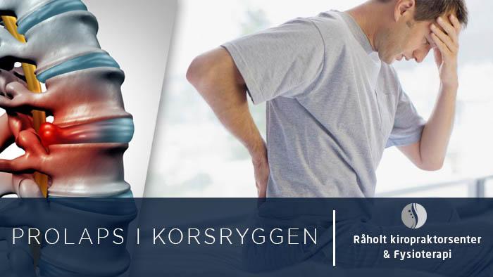 Prolaps i Korsryggen - Cover