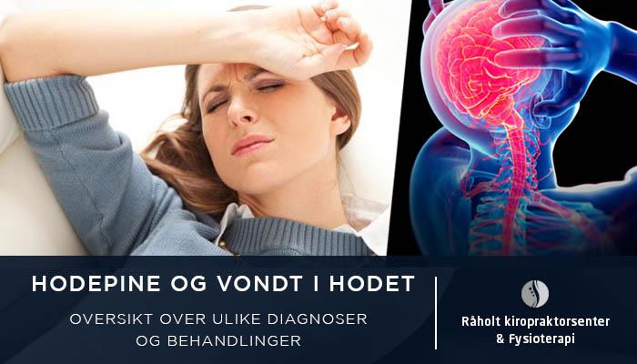 Hodepine og vondt i hodet